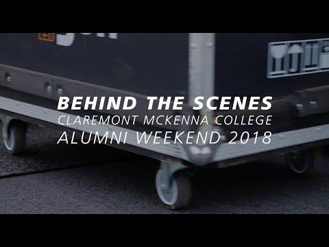 Behind the Scenes at Alumni Weekend 2018