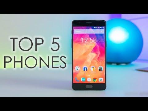 Top 5 Phones (May-June 2017)