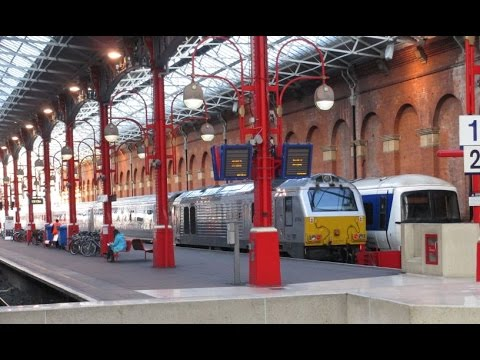 A Walk Around London's Marylebone Railway Station