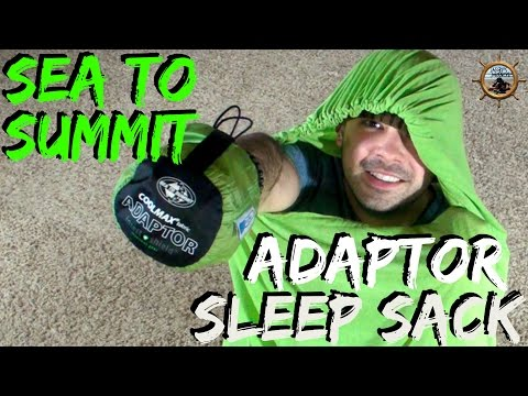 SEA TO SUMMIT CoolMax Adaptor Liner // Insect Shield Sleep sack