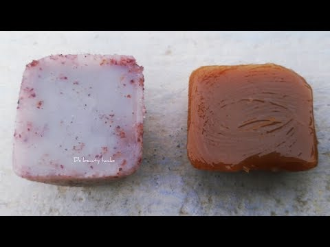 DIY Homemade lotion bar / creamy bar