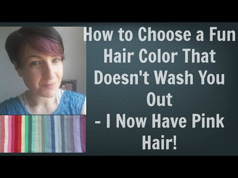 Hair Color Ideas - Does Pink Hair Suit You?| Choose Best Hair Color for Skin Tone - Color Analysis
