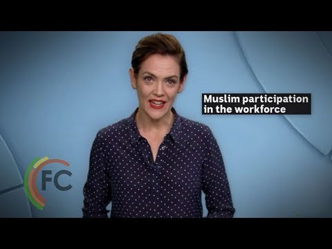 Are more than half of Australia's working-age Muslims not in the workforce?