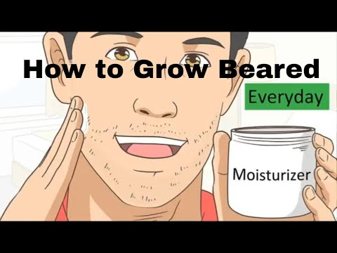 How to grow beard faster and thicker naturally for teenager if you can't