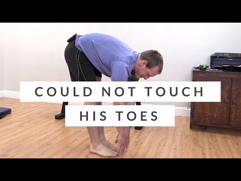 Can't touch your toes? Peter did it in one week without back pain