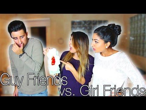 Guy Friends vs. Girl Friends ft. Dan and Riya