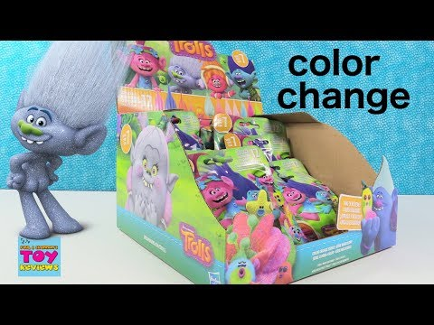 Color Change Trolls Series 7 Blind Bag Toy Figure Review Opening | PSToyReviews