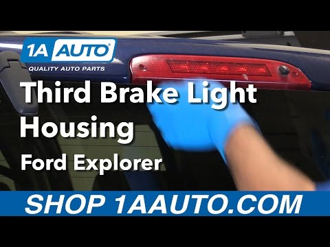 How to Replace Install Third Brake Light Housing 02-12 Ford Explorer Buy Parts from 1AAuto.com