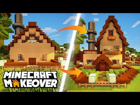 No Cube Houses! - Minecraft Makeover - Ep.5