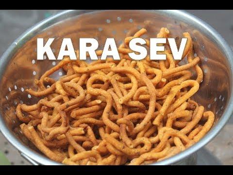 Garlic Kara Sev Recipe - Kara Sev Recipe