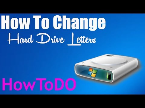 How To Change Hard Drive Letter Windows 7/8/8.1/10 - HowToDo