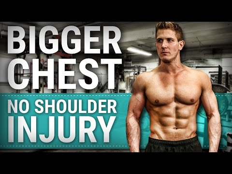 Build A Bigger Chest Without The Shoulder Injury! DUMBBELL CHEST FLY