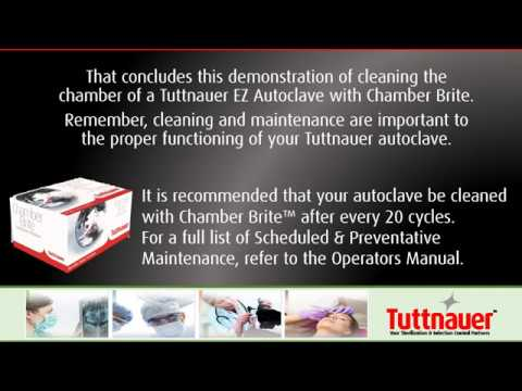Cleaning Maintenance Daily and Weekly - Tuttnauer EZ Autoclave