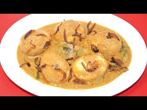 Egg Korma Recipe - Most Popular Egg Curry Recipe - Dimer Korma - Bengali Non Veg Recipes