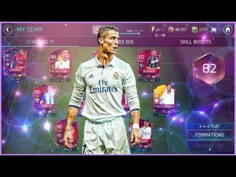 FIFA 18 Mobile : 88 Cristiano Ronaldo In 82 OVR Team ! RTGWCR - Episode IV