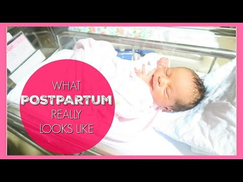 What Postpartum REALLY Looks Like!!  | 24 hours After Giving Birth