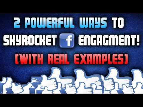 How To Increase Facebook Likes (With REAL EXAMPLES!!)