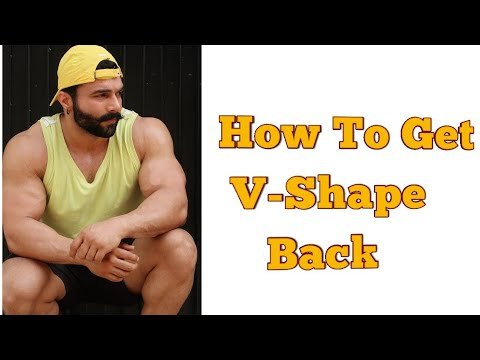 How To Get V-Shape Back | Back Workout| Perfect Back Routine