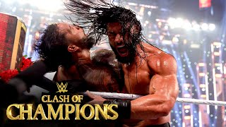 Roman Reigns sends brutal message to Jey Uso: WWE Clash of Champions 2020 (WWE Network Exclusive)