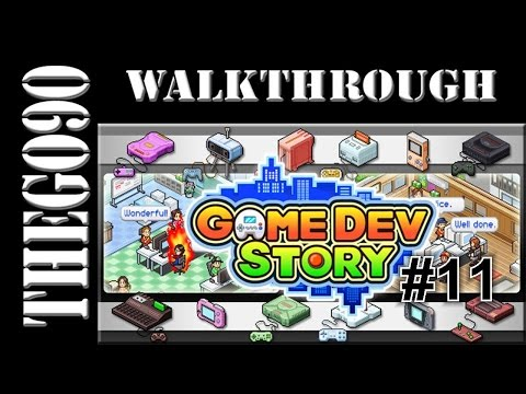 [Walkthrough] Game Dev Story [#11] Over 100.000 Dollar,Time for Build a Console