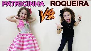 PATRICINHA VS ROQUERIA - VALENTINA PONTES