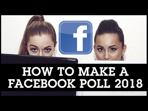 How To Make a Facebook Poll 2018