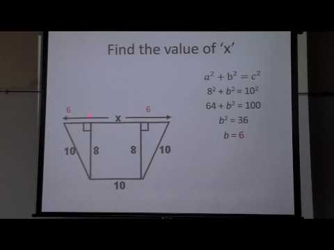 Pythagorean Theorem using a trapezoid