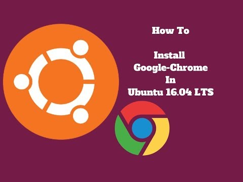 Download and Install Google Chrome:  in Ubuntu Any Version. using Package from Terminal