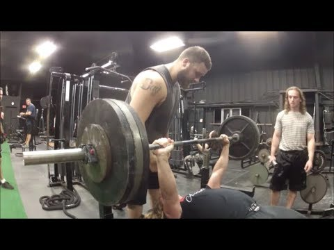 First Max Bench Press Attempt of 2018
