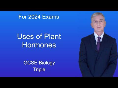 GCSE Science Biology (9-1 Triple) Uses of Plant Hormones