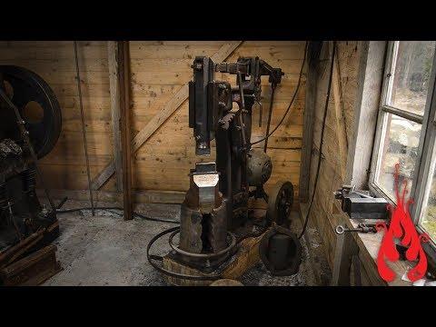 Blacksmithing - Intro to the 25 kg ABNO power hammer