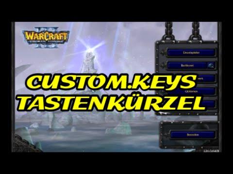 Warcraft 3 Guide - Hotkeys / CustomKeys ändern und benutzen [Deutsch/German] WC 3 by DPoR LP
