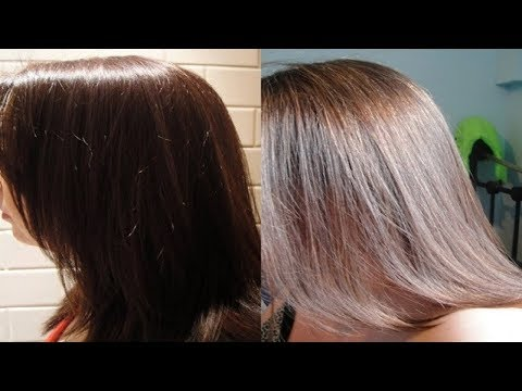 How to Lighten Dyed Hair That is Too Dark.