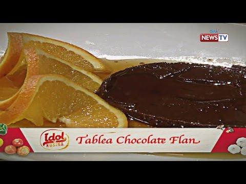 Idol sa Kusina: Tablea Chocolate Flan