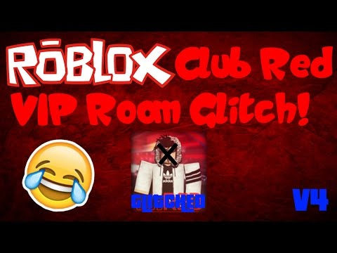 ROBLOX Club Red VIP Room Glitch!