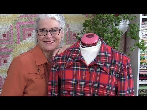 Where to Put Buttons on a Plaid Shirt