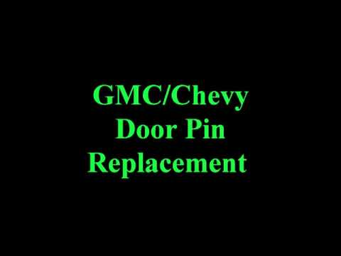 DIY - How to Replace the Door Pin in your Truck