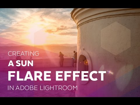 Creating a Sun Flare Effect in Adobe Lightroom