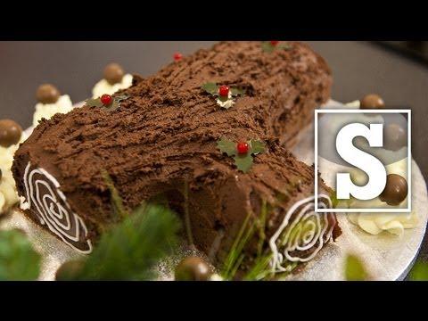 CHRISTMAS YULE LOG RECIPE - SORTED