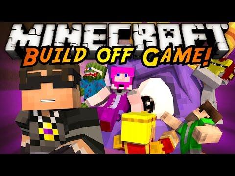 Minecraft Build Off : SKYLANDERS!
