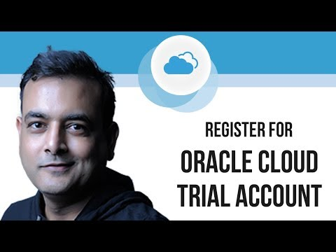 Register For Oracle Cloud Trial Account