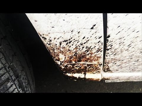 HOW TO REMOVE TAR FROM CAR PAINT
