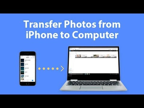 Transfer Photos from iPhone to Computer Windows10/8/7 without iTunes