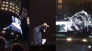 Adele Gets ATTACKED On Stage By A BUG! | What