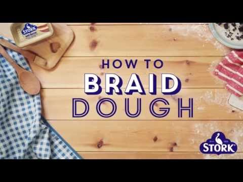 Bake with Stork: How to Braid Bread Dough