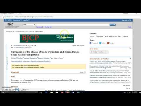 Cite PubMed article in APA format