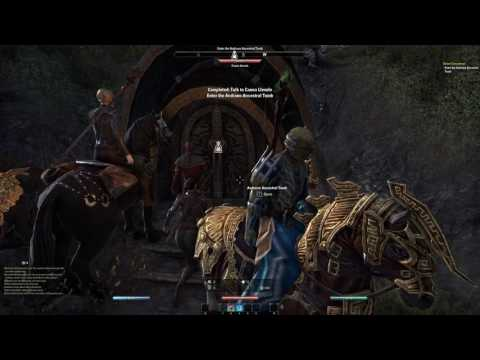 The Elder Scrolls Online Gameplay - Episode 50 - Leveling Warden Class (4K Resolution)