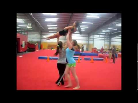 Cheer stunts to try