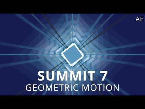 Download Summit 7 - Geometric Motion - After Effects