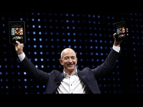 Amazon Unveils New Kindle Fire